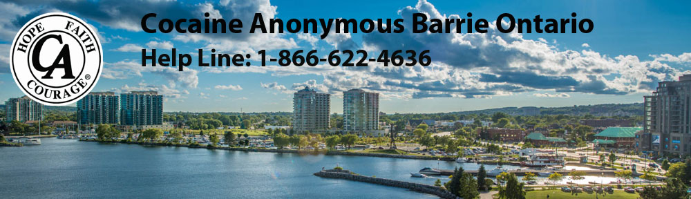 Cocaine Anonymous Barrie Ontario